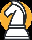 Chess piece illustration